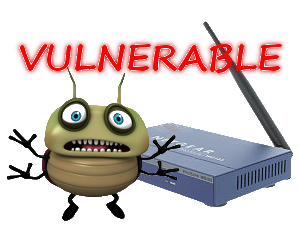 Vulnerable router